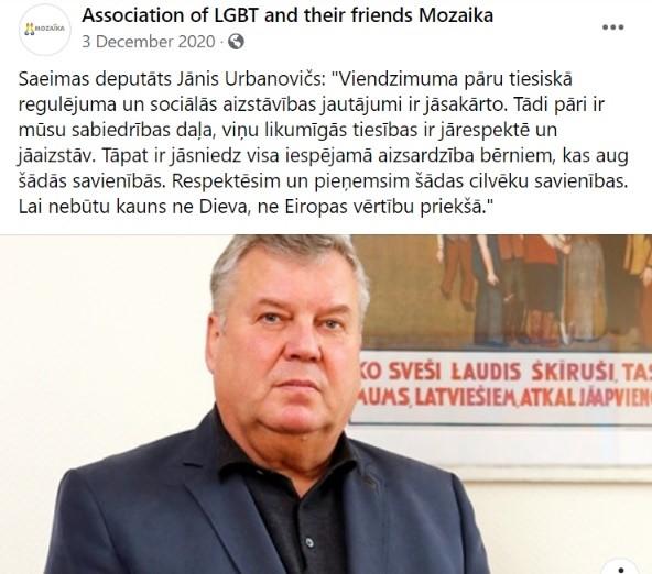 LGBT atbalstītājs